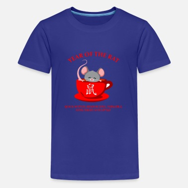 Match Lunar Chinese Zodiac Year of the Rat gift for men - Kids' Premium T-Shirt