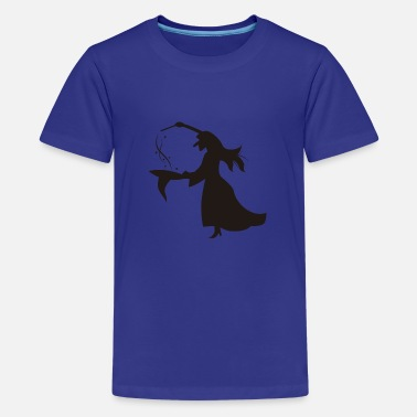 Perform Magic witch performing magic - Kids' Premium T-Shirt