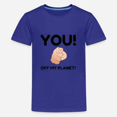 Offroad Vehicles Off My Planet - Kids' Premium T-Shirt