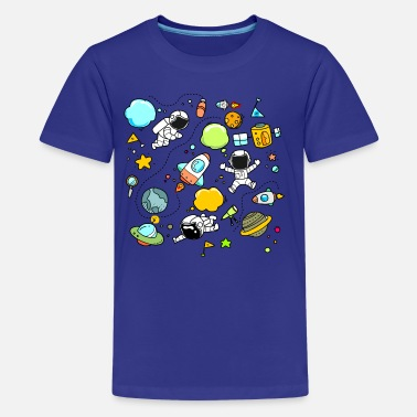 Funny Space FUNNY SPACE KIDS - Kids' Premium T-Shirt