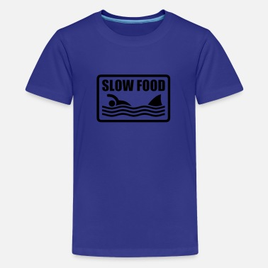 Humour slow food - T-shirt premium Enfant