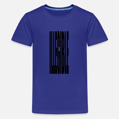 Illegal illegible - Kids' Premium T-Shirt