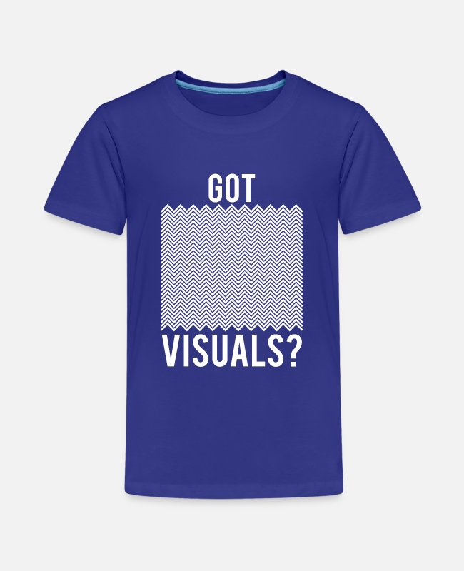Witchcraft T-Shirts - Funny Got Visuals Optical Illusion Magician gift - Kids' Premium T-Shirt royal blue