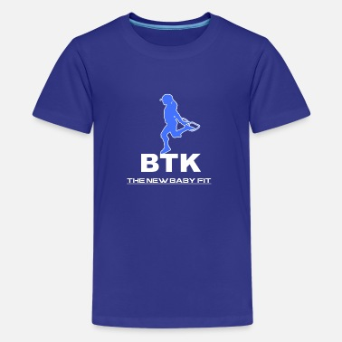 BTK BLUE JUMP GIRL - Kids' Premium T-Shirt