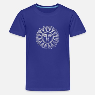 Sun abstract logo - Kids' Premium T-Shirt