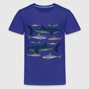 sharks - Kids' Premium T-Shirt