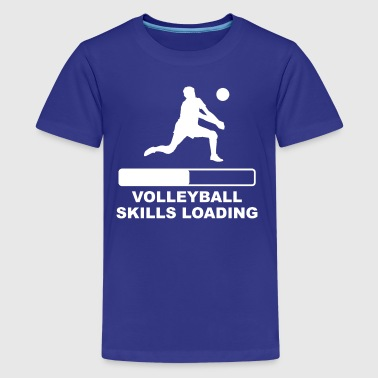 Volleyball Skills Loading - Kids' Premium T-Shirt