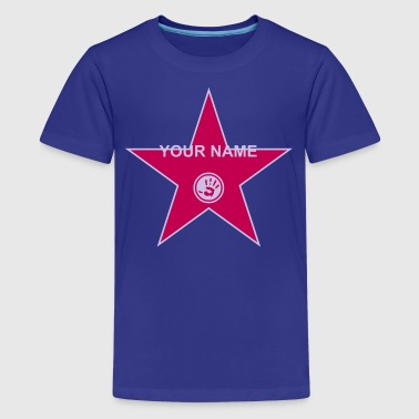 your walk of fame + your name - Kids' Premium T-Shirt