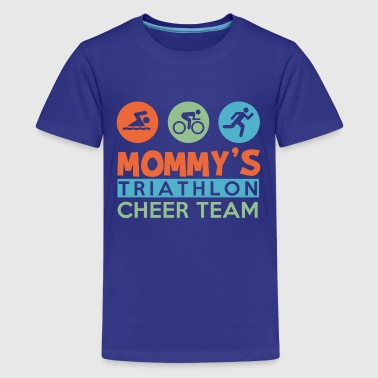 triathlon cheer team - Kids' Premium T-Shirt