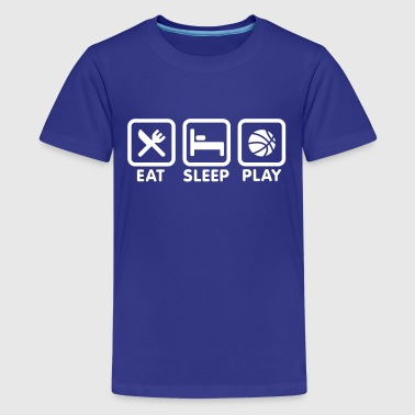 Eat Sleep Play Basketball - Kids' Premium T-Shirt