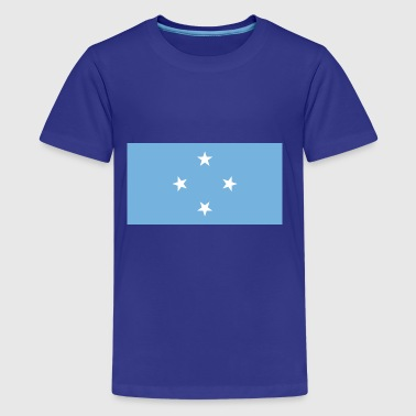 Micronesia country flag love my land patriot - Kids' Premium T-Shirt