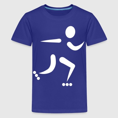 Inline Skating - Kids' Premium T-Shirt