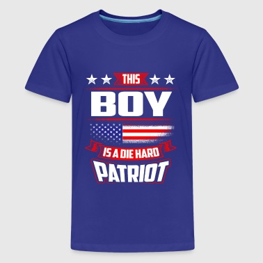 4th Of July Boy Die Hard  Patriot Shirt Gift - Kids' Premium T-Shirt