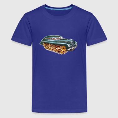 Car Tank - Full Color - Kids' Premium T-Shirt