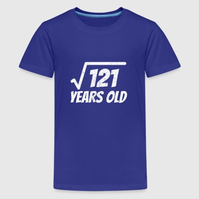 square root of 121 shirt - 11 years old - Kids' Premium T-Shirt