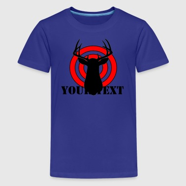 BULLSEYE - vector graphic - Kids' Premium T-Shirt