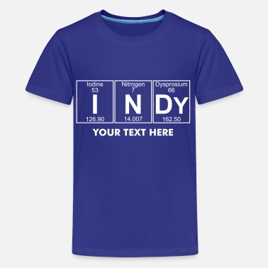 Indy I-N-Dy (indy) - Full - Kids' Premium T-Shirt