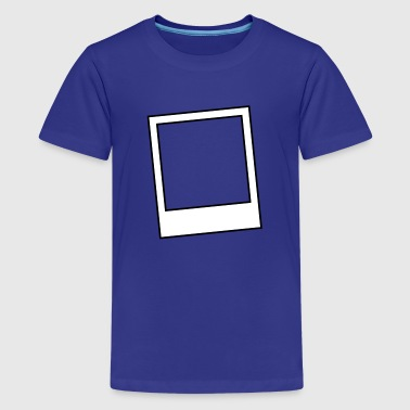 polaroid style photo photograph frame - Kids' Premium T-Shirt