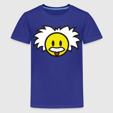 Smiley Einstein Icon (dd print) - Kids' Premium T-Shirt