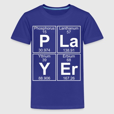 P-La-Y-Er (player) - Full - Kids' Premium T-Shirt