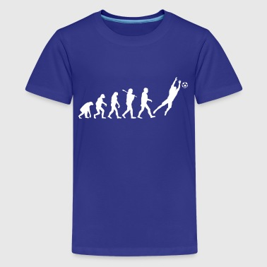 Evolution of Goalkeeper - Kids' Premium T-Shirt