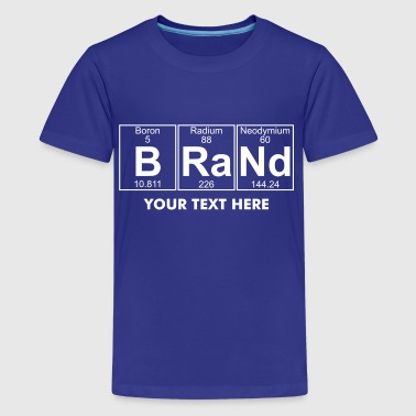 B-Ra-Nd (brand) - Full - Kids' Premium T-Shirt