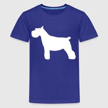 Schnauzer Dog - Kids' Premium T-Shirt