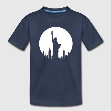 Liberty Statue - New York - Kids' Premium T-Shirt