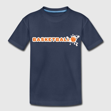 Basketball and Splash - Kids' Premium T-Shirt