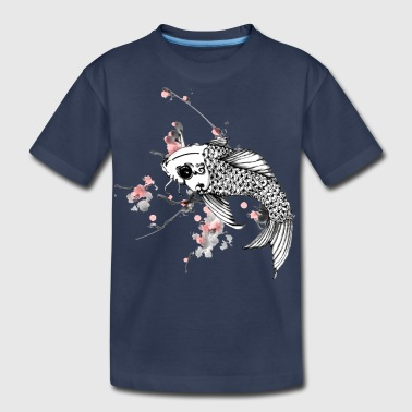 fish koi - Kids' Premium T-Shirt