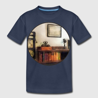 Eye Doctor's Office With Diploma - Kids' Premium T-Shirt