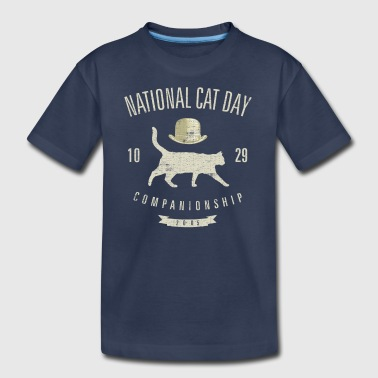 National cat day 10.29.20 - Kids' Premium T-Shirt