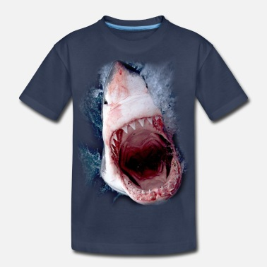 Scary shark - Kids' Premium T-Shirt