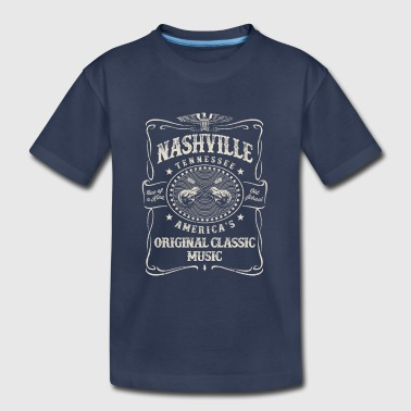 Nashville Music City - Kids' Premium T-Shirt