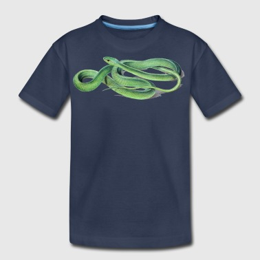 green snake - Kids' Premium T-Shirt