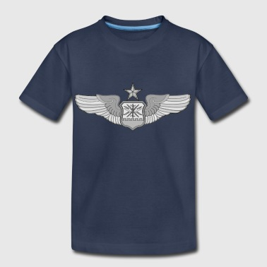 SENIOR NAVIGATOR WINGS - Kids' Premium T-Shirt