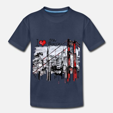I Love San Francisco I love San Francisco - Kids' Premium T-Shirt