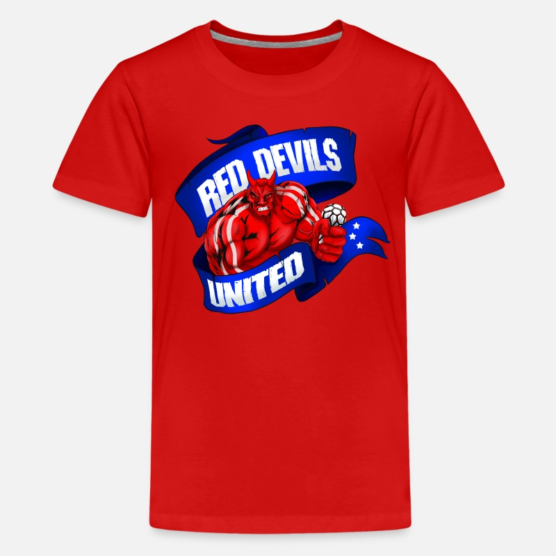 dddc8aa24 Manchester United   Red Devils Kids  Premium T-Shirt
