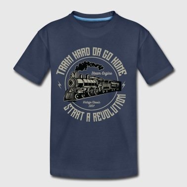 Train Hard Or Go Home - Gym Motivation T Shirt - Kids' Premium T-Shirt