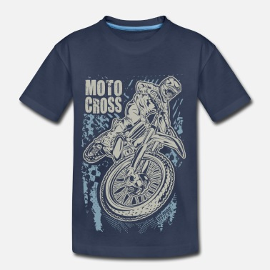 Enduro Motocross Motocross Enduro Tricks - Kids' Premium T-Shirt