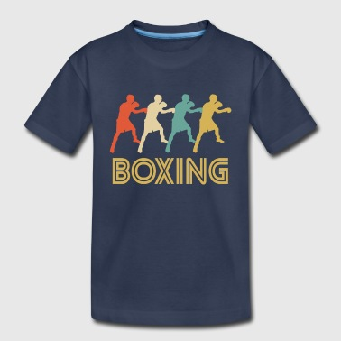 Retro Boxing Pop Art - Kids' Premium T-Shirt
