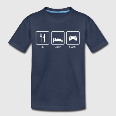 Eat Sleep Game - Kids' Premium T-Shirt