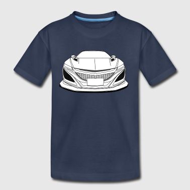cool jdm car white - Kids' Premium T-Shirt