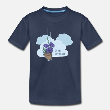 Guide Thoughts of a falling bowl of petunias - Kids' Premium T-Shirt