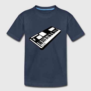 keyboard music piano music instrument - Kids' Premium T-Shirt