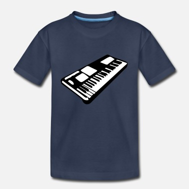 Instrument keyboard music piano music instrument - Kids' Premium T-Shirt
