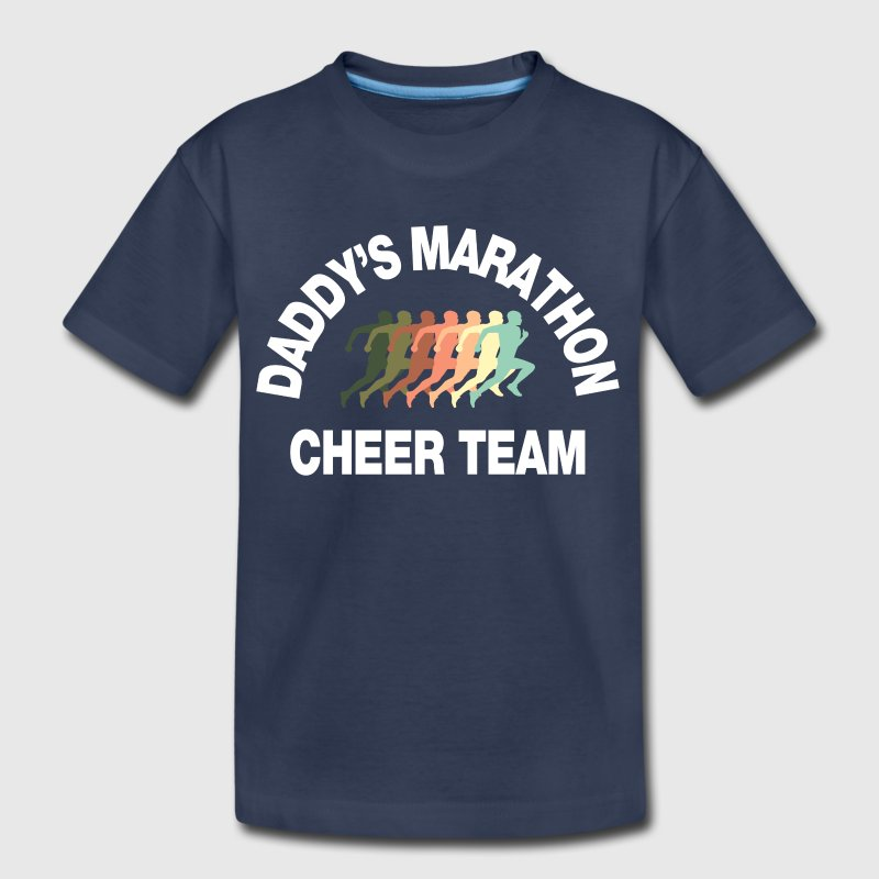 marathon cheer team - Kids' Premium T-Shirt
