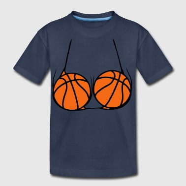 Basketball Jersey ball basketball jersey breasts 2 bath - Kids' Premium T-Shirt