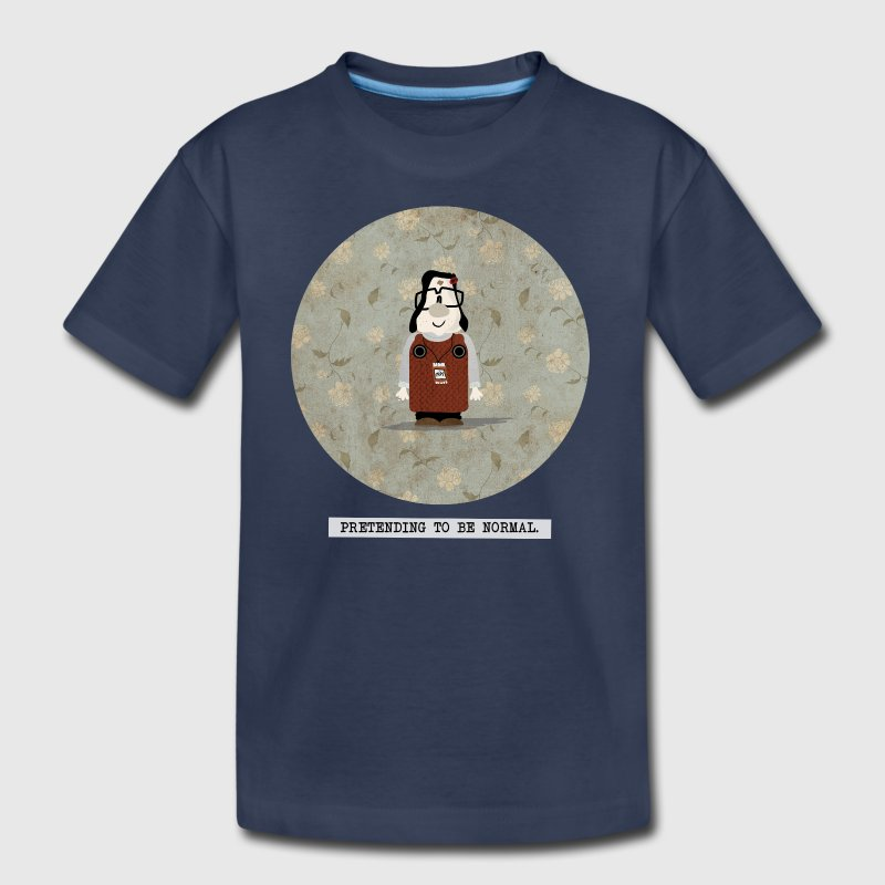 pretending to be normal - mary and max - Kids' Premium T-Shirt
