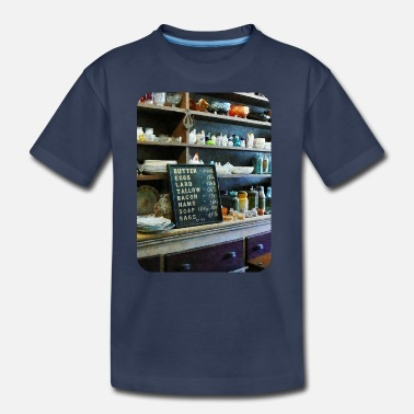 Price List Groceries in General Store - Kids' Premium T-Shirt